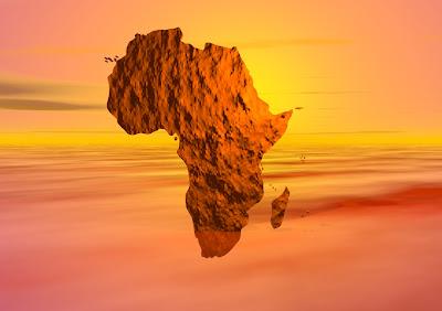 Foto Benua Afrika Dari Langit