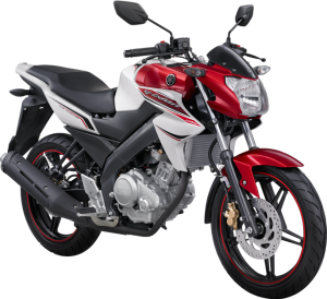 New Vixion Lightning 2013 Fuel Injection White Reddish Lightning