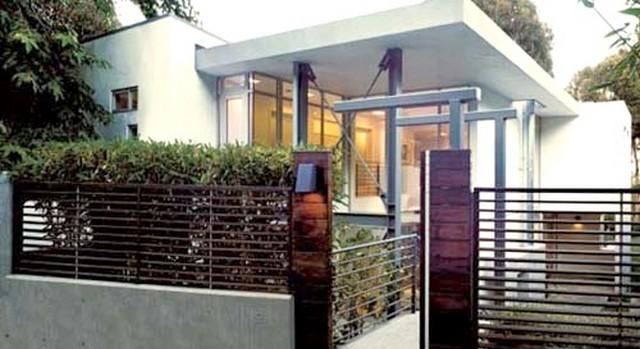 Desain Pagar Rumah Minimalis Modern My Blog